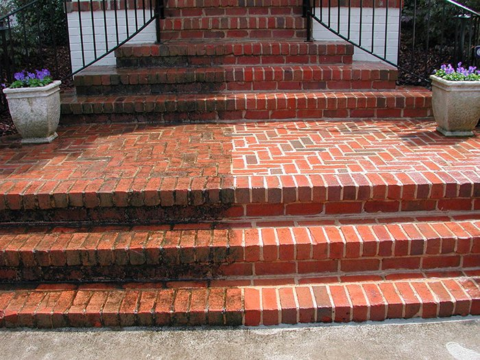 Steps cleaning